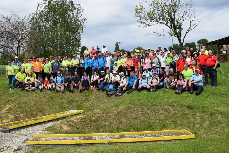 Srečanje pomurskih planincev 2017